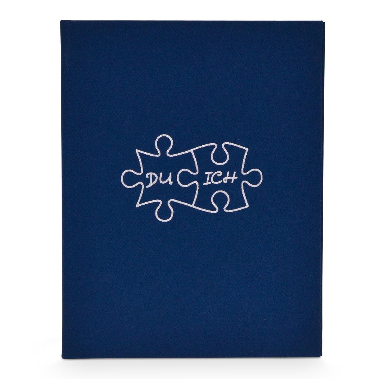 Puzzle marineblau